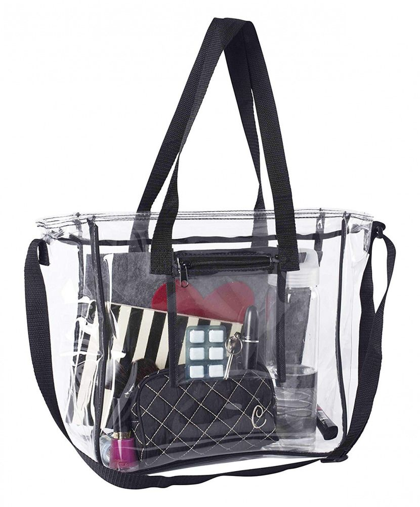 eb33139683df Large Lunch Bag | NFL & PGA Stadium Security Approved Clear Lunch ...