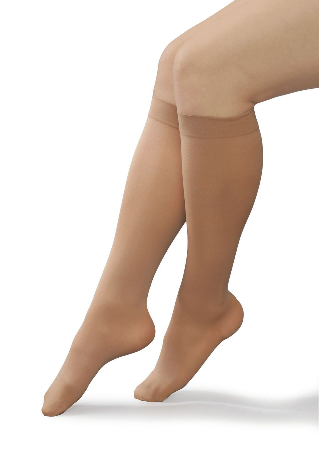 af143ba4b2 $12.55 - Knee High 23-32Mmhg Compression Support Stocking,Open Or Closed  Toe /