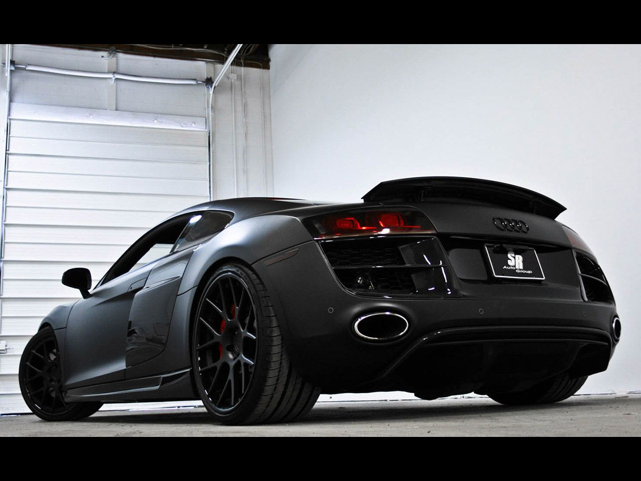 Matte Black Audi R8 Wallpaper Audi R8 Black Matte Cars Pinterest