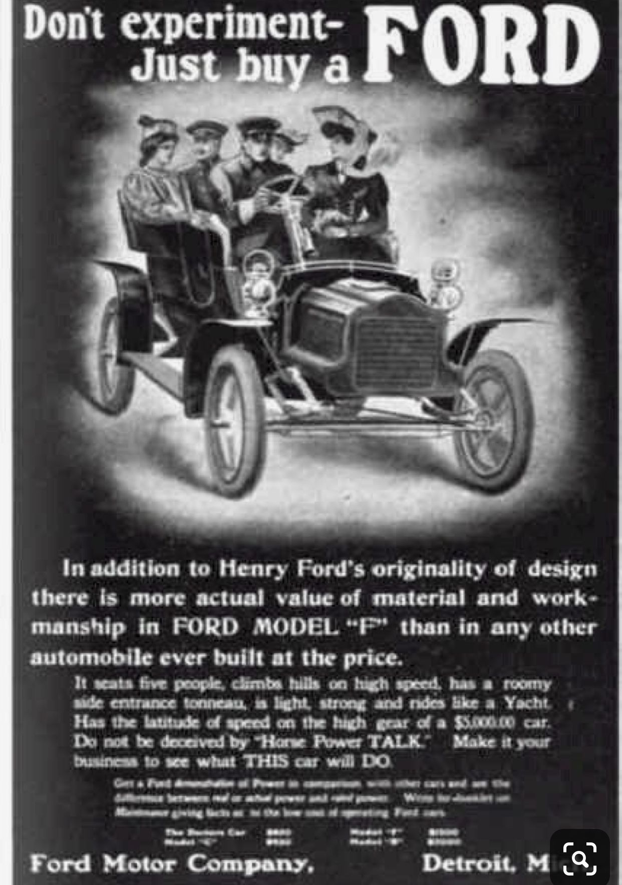 """This """"Model T"""" was the first car made by Henry Ford and"""