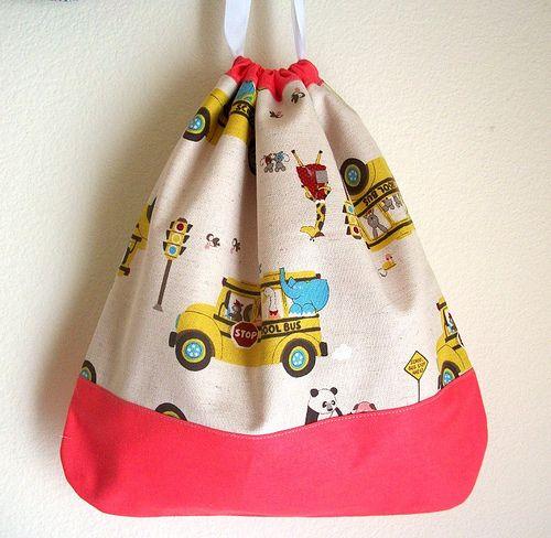 Drawstring Bag | by Meredith Daniel