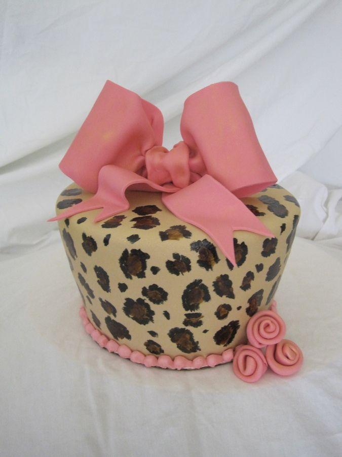 Cheetah Print Cake Batter Tutorial
