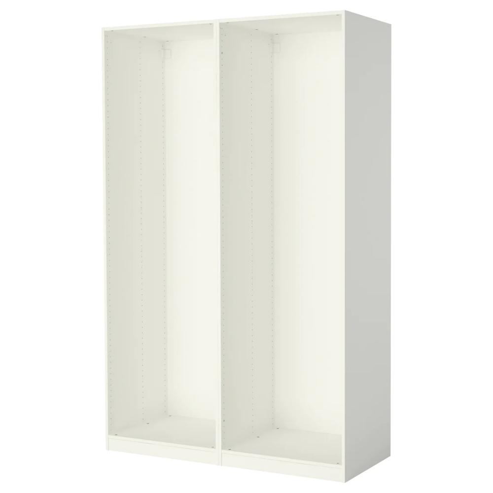 Pax 2 Wardrobe Frames White 58 7 8x22 7 8x93 1 8 Ikea Ikea Pax Ikea Pax