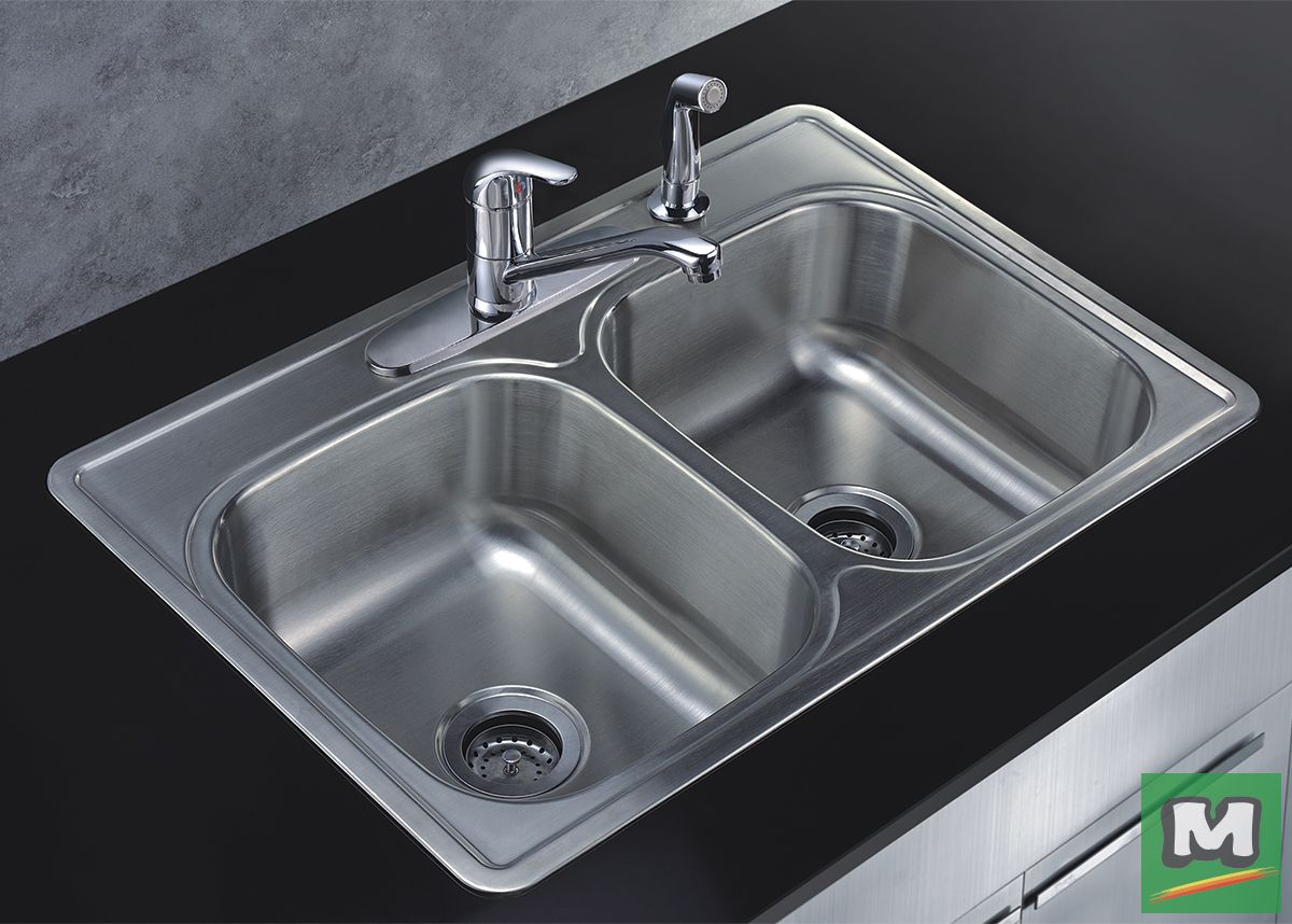 Make Your Kitchen Stand Out With This Tuscany Kitchen Sink Kit It Includes A Single Handle Kitchen Tuscany Kitchen Single Handle Kitchen Faucet Kitchen Stand