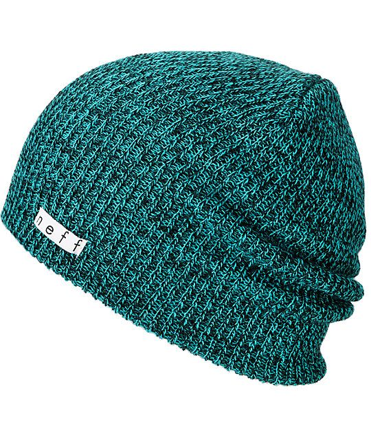 458e23384aa Neff Daily Slouch beanie for cold nights and good times. This neff beanie  is a soft and stretchy knit hat that goes with any outfit and fits right  under ...