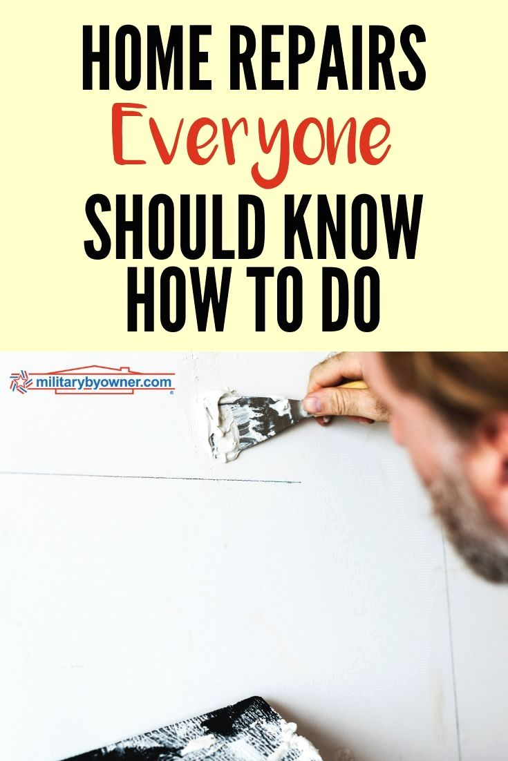 Photo of 15 Home Maintenance Tasks and Repairs Everyone Should Know How to Do