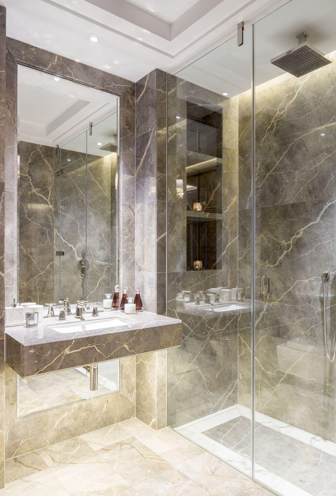 Luxury Bathrooms Features Elegant Bathroom Decor Pinterest Luxury Bathroom Modern Bathroom Bathroom Interior Design