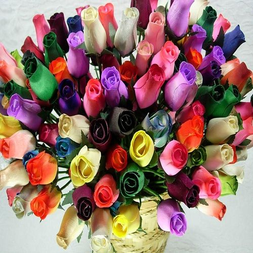 Most Romantic Flower Bouquets For Your True Love Wooden Roses Flowers Romantic Flowers