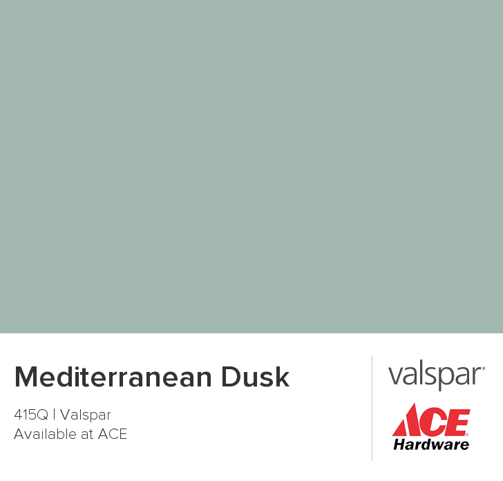 Top 10 Tuscan Style Paint Colors: Mediterranean Dusk From Valspar