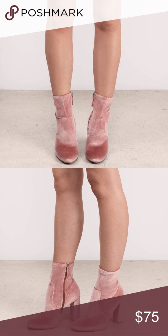 8f023505b8f STEVE MADDEN EDIT BLUSH VELVET BOOTIES STEVE MADDEN EDIT BLUSH VELVET  BOOTIES CONTENT   CARE Velvet