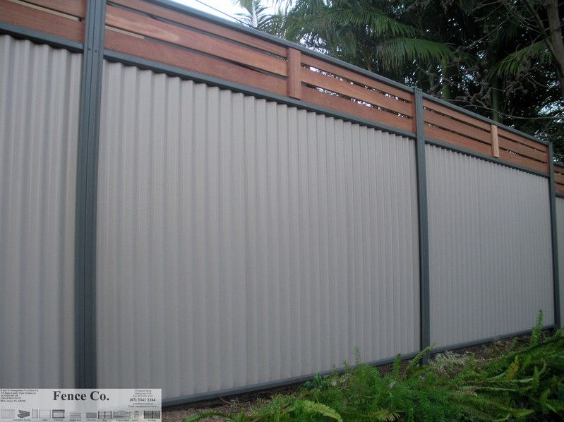Customise Your Colorbond With Timber Inserts Fences