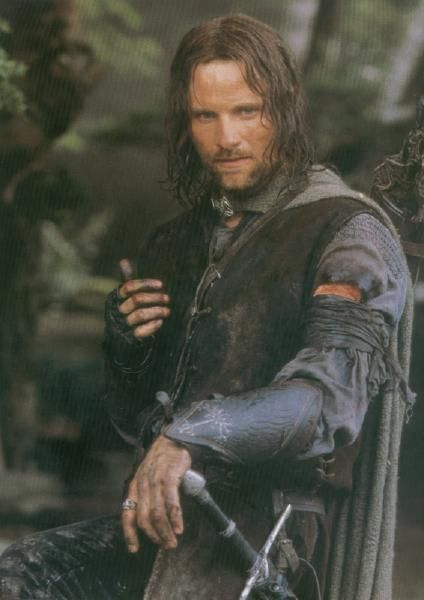Dark and brooding - will never forget Viggo Mortensen's performance in Lord of the Rings