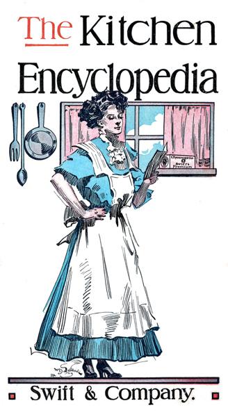 The Kitchen Encyclopedia Swift Company Vintage Cookbooks Home Economics Bartending Tips
