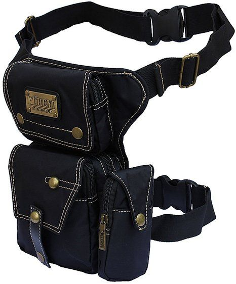 Zenness Cool Fashion Tactical Waist Bag Travel Casual Cycling Bag