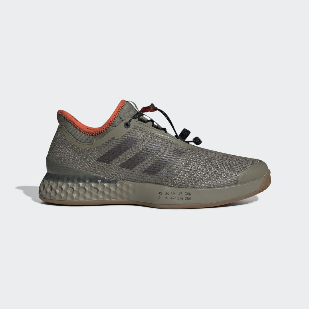 Adizero Ubersonic 3 Citified Shoes Khaki Mens in 2020