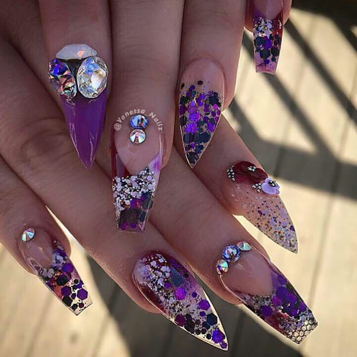 Pin by Gley Caraballo on nail | Pinterest | Beautiful nail designs ...