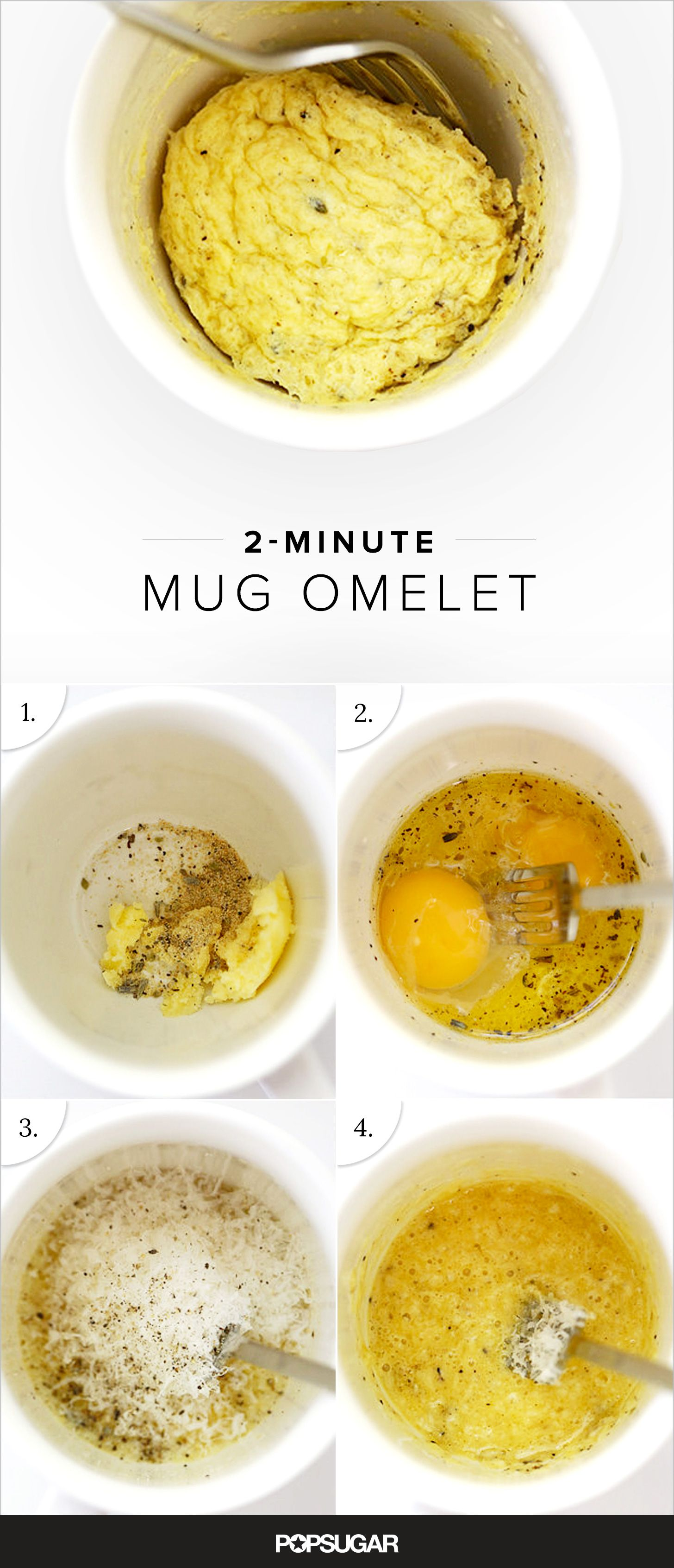 The Trick to Making a Homemade Omelet in 1 Minute Recipe