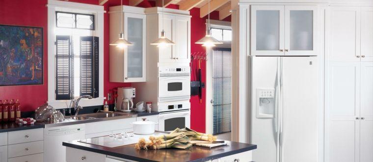 Cocinas rojas y blancas - descubre la nueva tendencia de 2016