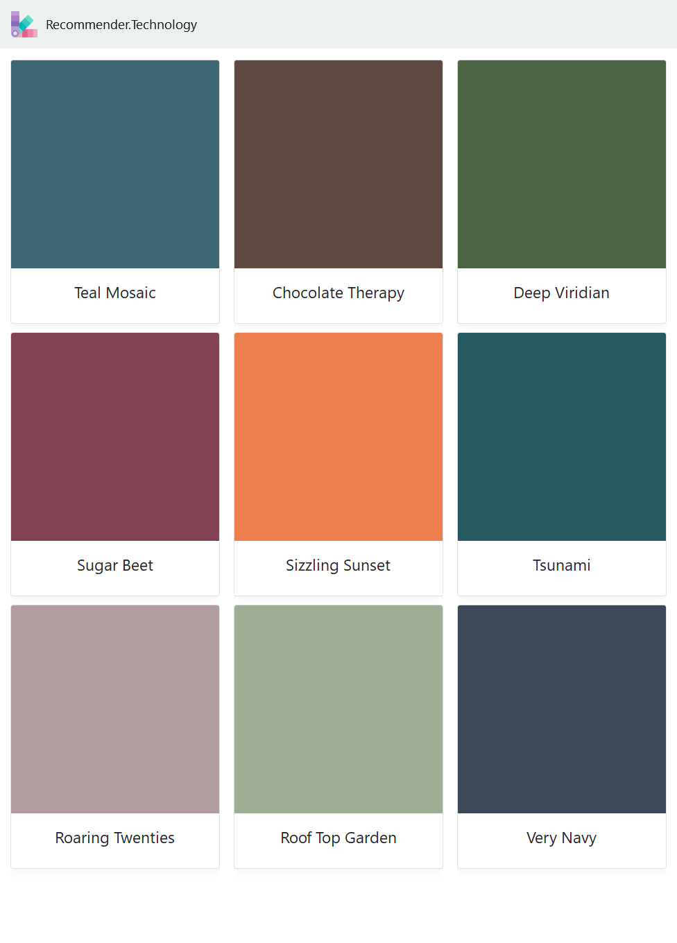 Teal Mosaic Sugar Beet Roaring Twenties Chocolate Therapy Sizzling Sunset Roof Top Garden Deep Viridia Behr Colors Paint Color Palettes Behr Paint Colors