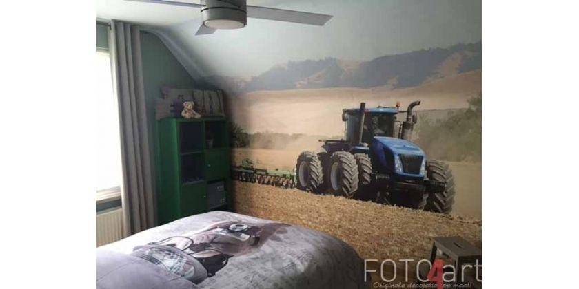 Fototapete kinderzimmer traktor  Fototapete Traktor - Fototapete 2017