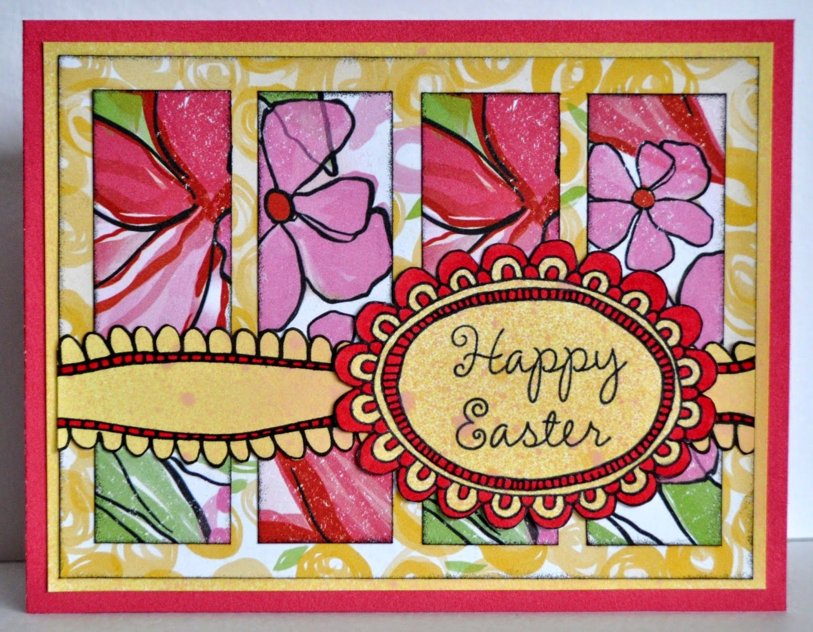 DAT'S My Style: Easter Card - March Stamp of the Month