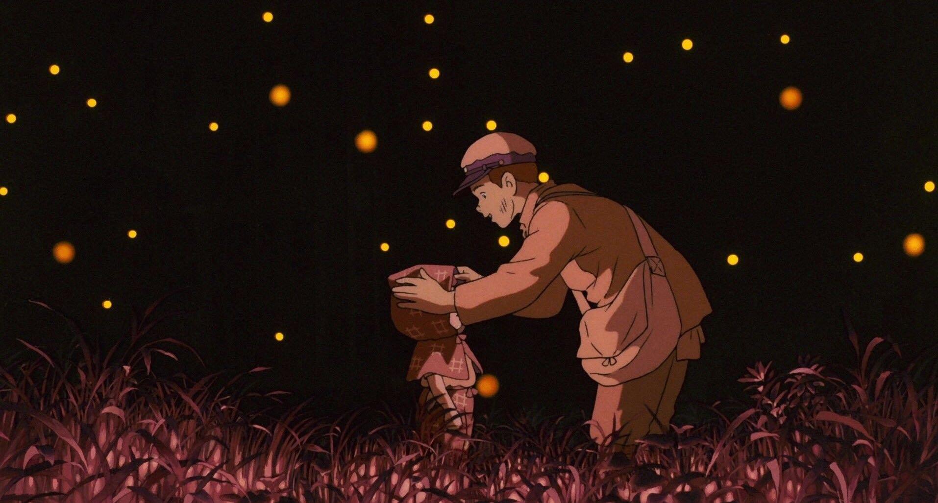 Pin di grave of the fireflies