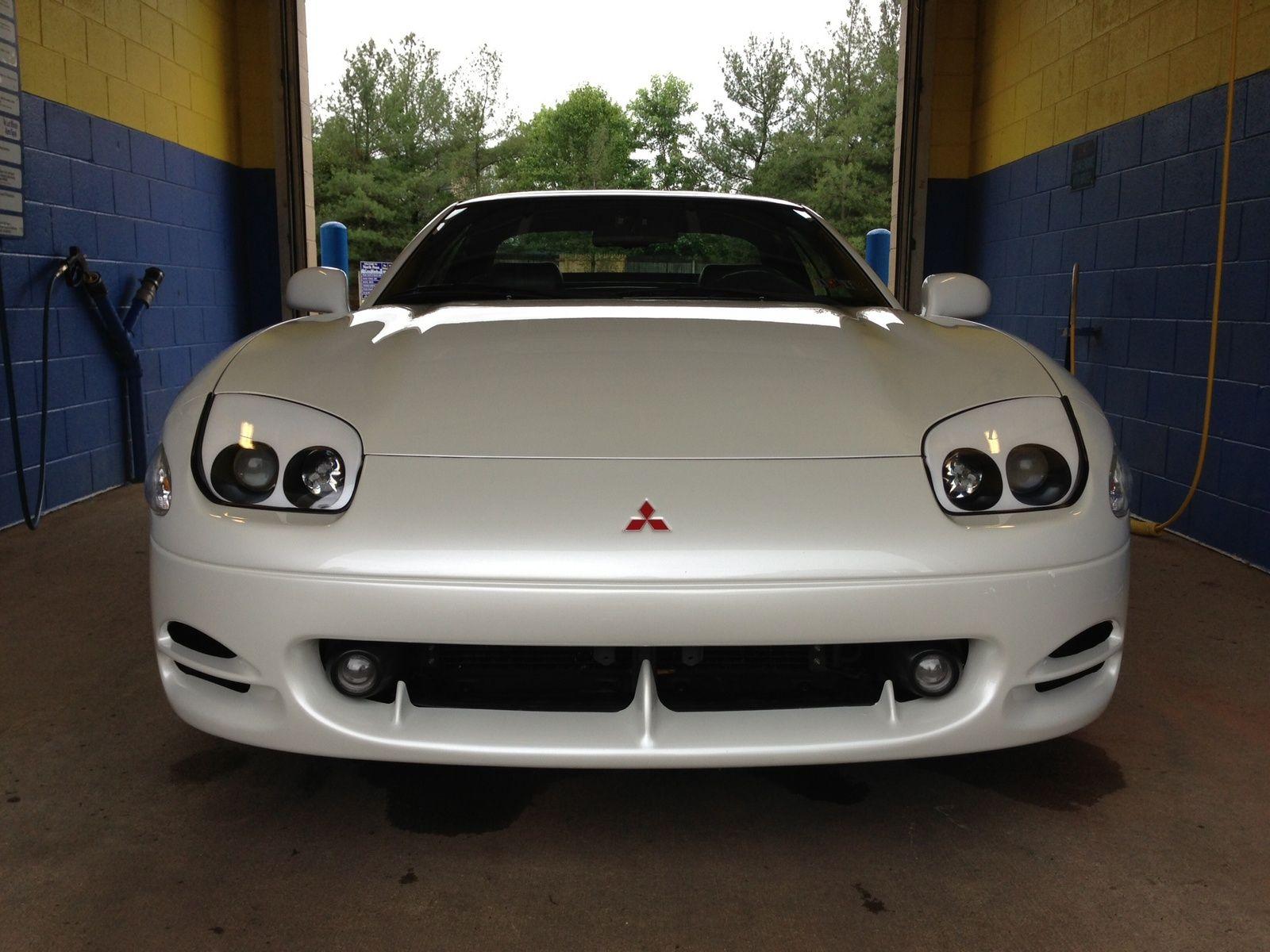 1995 mitsubishi 3000gt spyder vr4 in glacier white pearl turbo