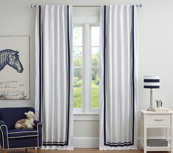 Best Curtains For Kids Rooms Creative Curtain Ideas Style And Comfort Pottery Barn