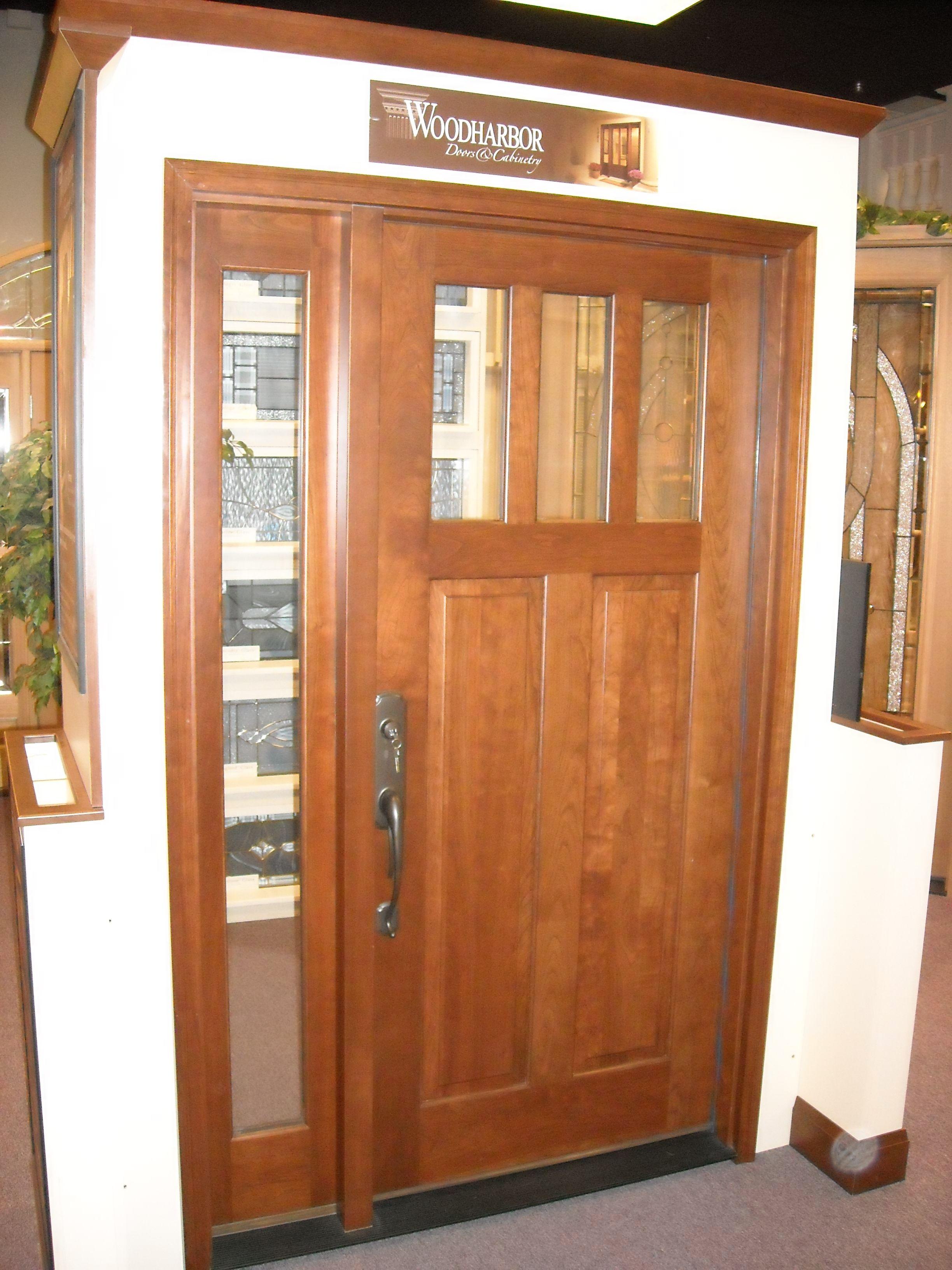 Merveilleux Woodharbor Cherry Entry Door Display At Southeastern Door U0026 Window Biloxi,  MS