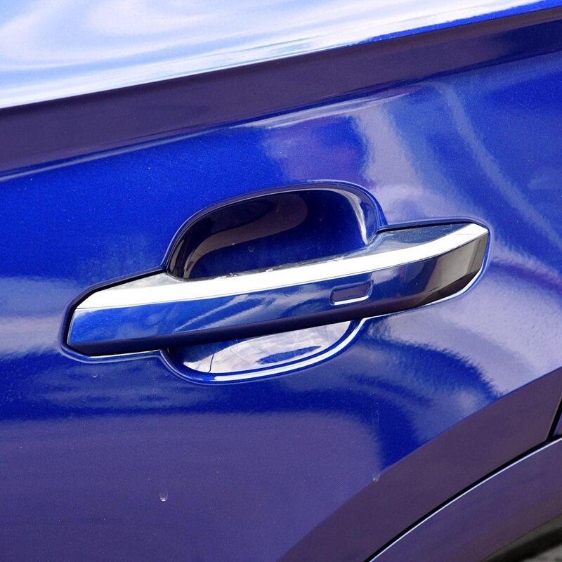 Audi Q5 2018 Exterior Side Door Handle Decorative Cover Trim Stickers Best Price Car Parts Online -