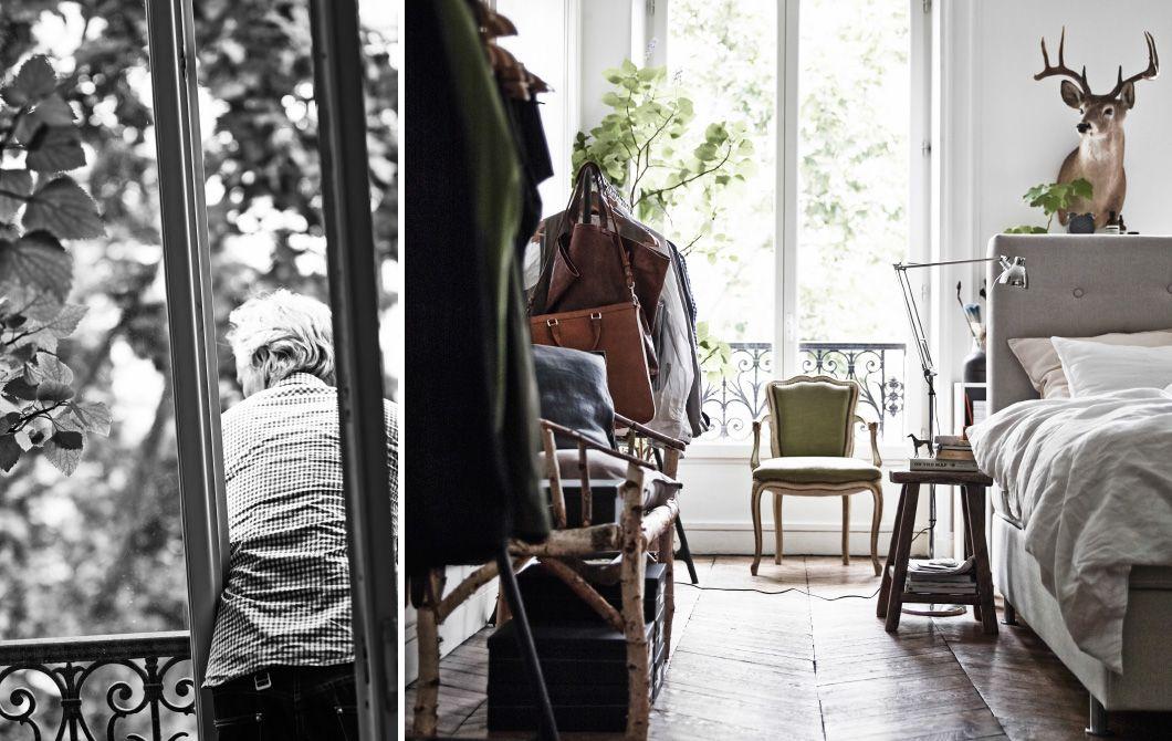 """Estas imágenes son del libro """"¡Encuéntralo! de IKEA y muestran la casa de París del decorador Hans Blomquist. Aquí nos muestra cómo podemos mejorar el aspecto y la practicidad de nuestras casas a través del almacenaje."""