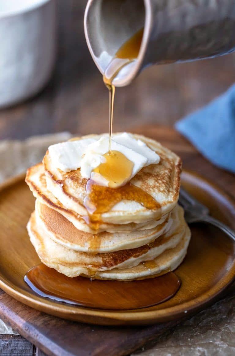 Sour Cream Pancakes Recipe Sour Cream Pancakes Sweet Cream Pancakes Recipe Sour Cream