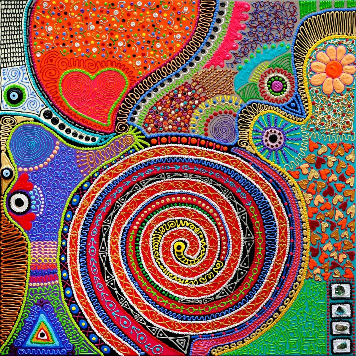 Unieke kunst! www.biancaleusink.nl