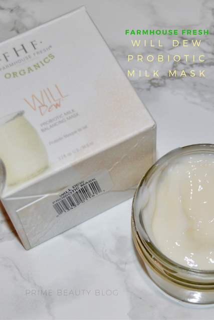 How To Indulge In Self Care With Farmhouse Fresh Will Dew Probiotic Milk Mask Primebeauty Farmhousefresh F Home Beauty Tips Skin Care Recipes Beauty Health
