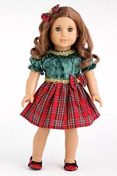 american girl doll christmas dresses - Google Search | 0 AG dolls ...