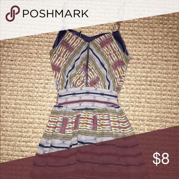 Maxi dress Tribal print and multi colored Dresses Maxi