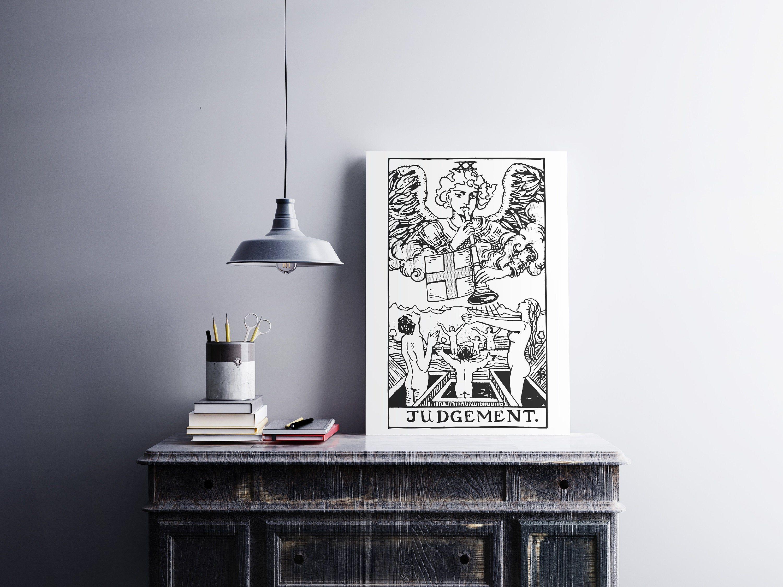 The Judgement Print, Tarot Card Poster, Rider-Waite
