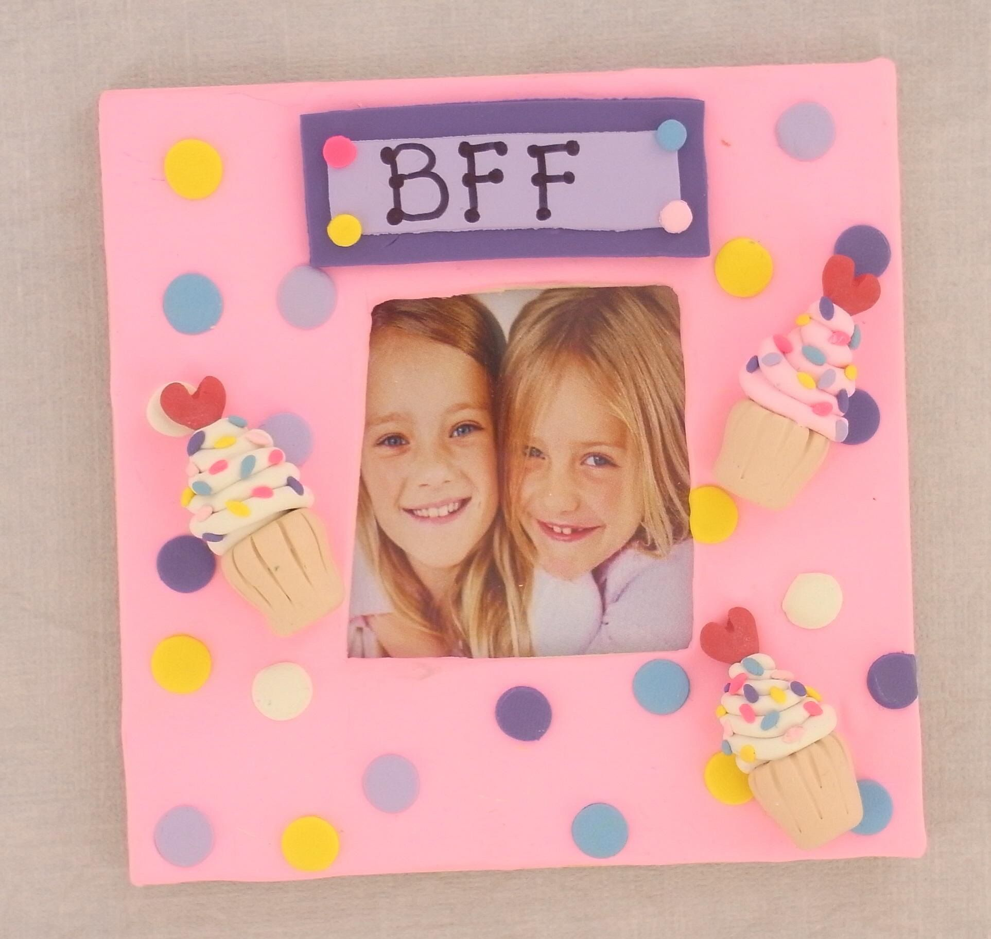 Bake Shop BFF Frame | Pinterest | Bff, Clay and Polymer clay