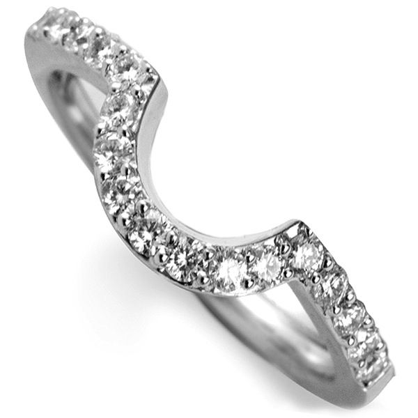 Horseshoe Shaped Diamond Wedding Ring Joint Wedding Page