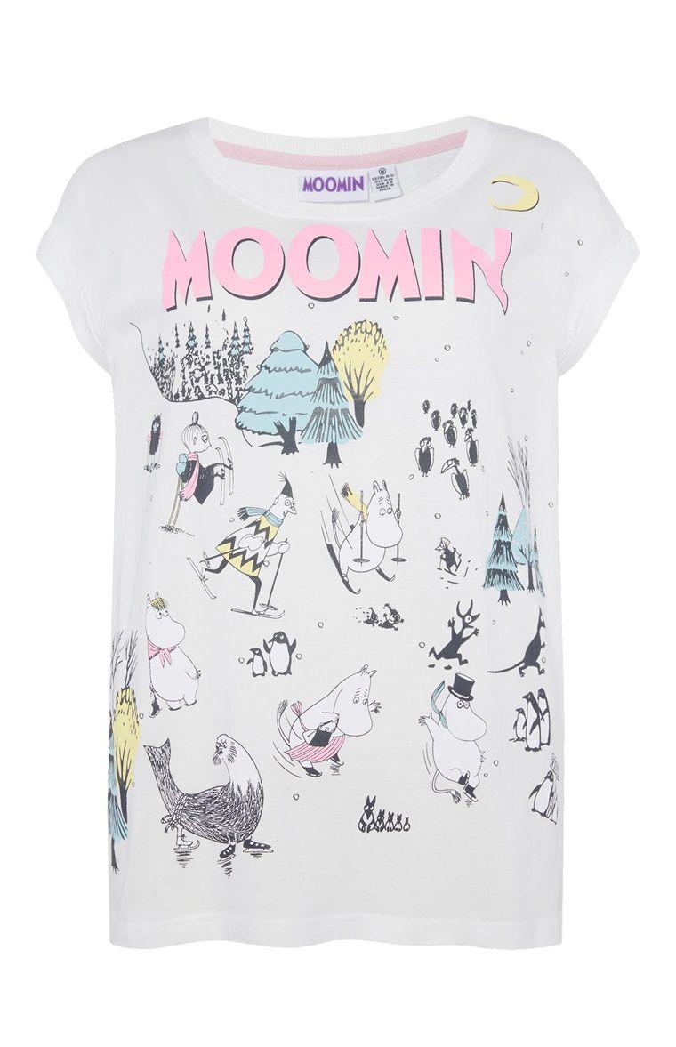 Primark - Moomins Ski PJ T-Shirt £5.00 (Me)  455c0b0c044fb