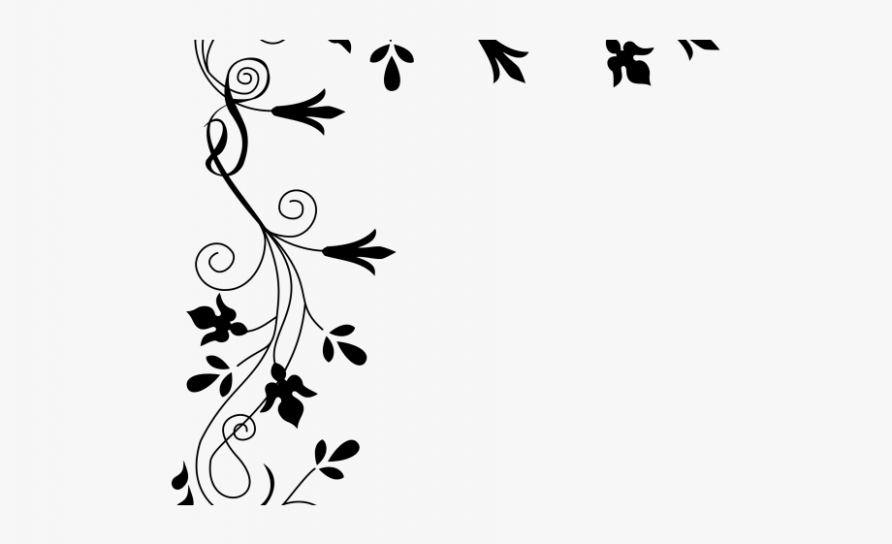 9 Secrets You Will Not Want To Know About Flower Clipart Black And White Border Flower Clipart Black And White Border Flower Border Clipart Flower Border Png Flower Border