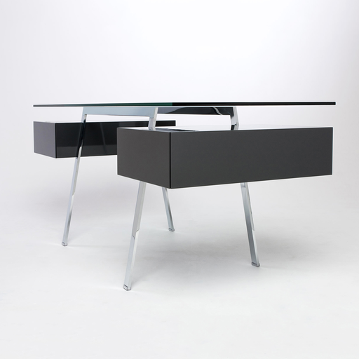The Homework 2 Desk By Bensen With Built In File Drawers Covered