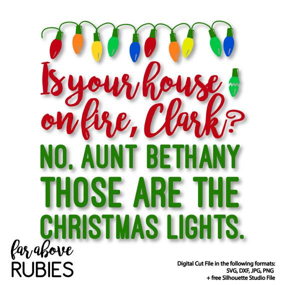 Christmas Vacation Santa Quotes: Christmas Vacation Quote From Aunt Bethany To Clark