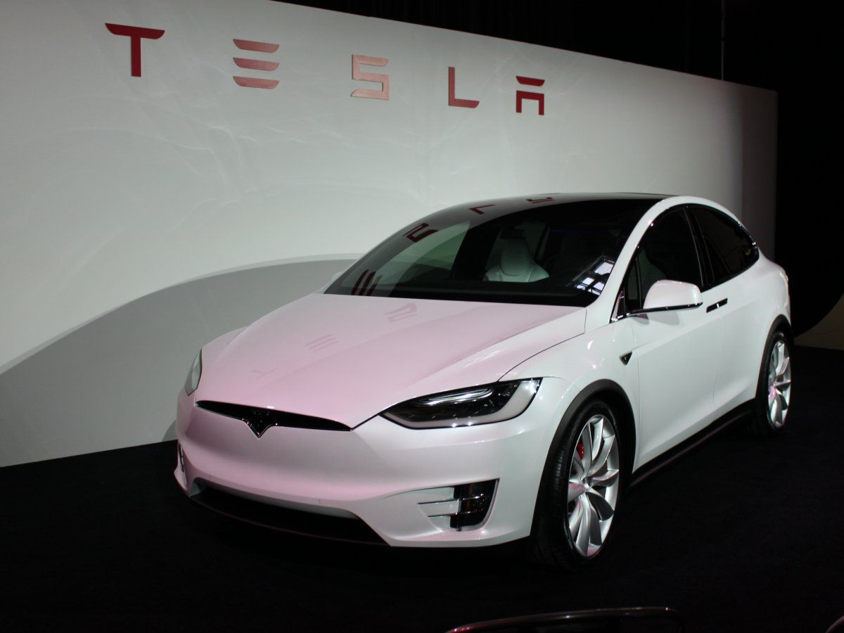 2015 Car of the Year Finalist: The remarkable Tesla Model X #dreamcars