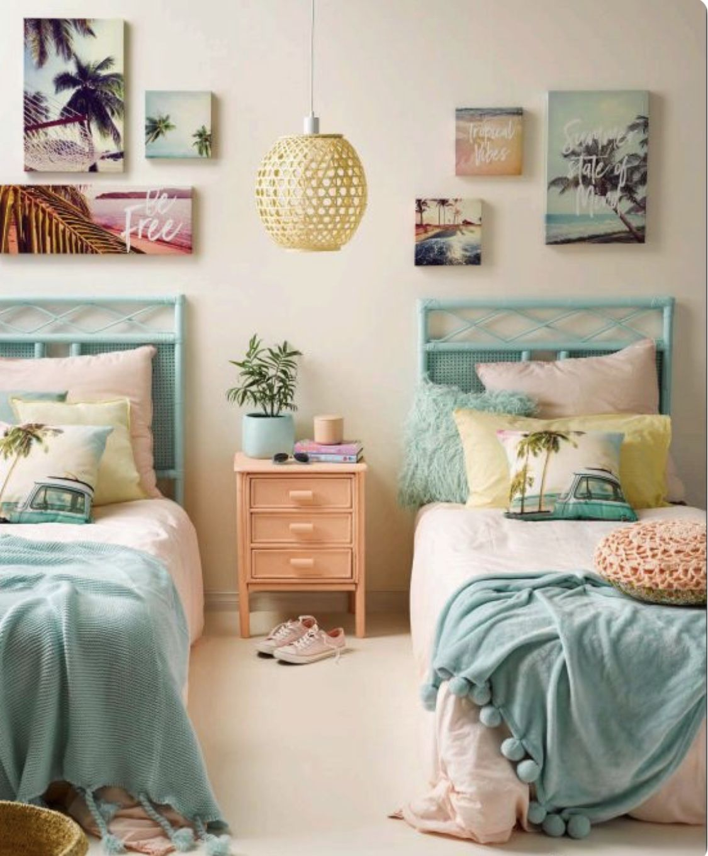 Surfer Girls Bedroom Ideas Surf Bedroom Girl Room Tropical