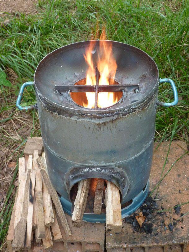 Connu Rocket stove - Les outils de l'autonomie | favorit | Pinterest  YS81