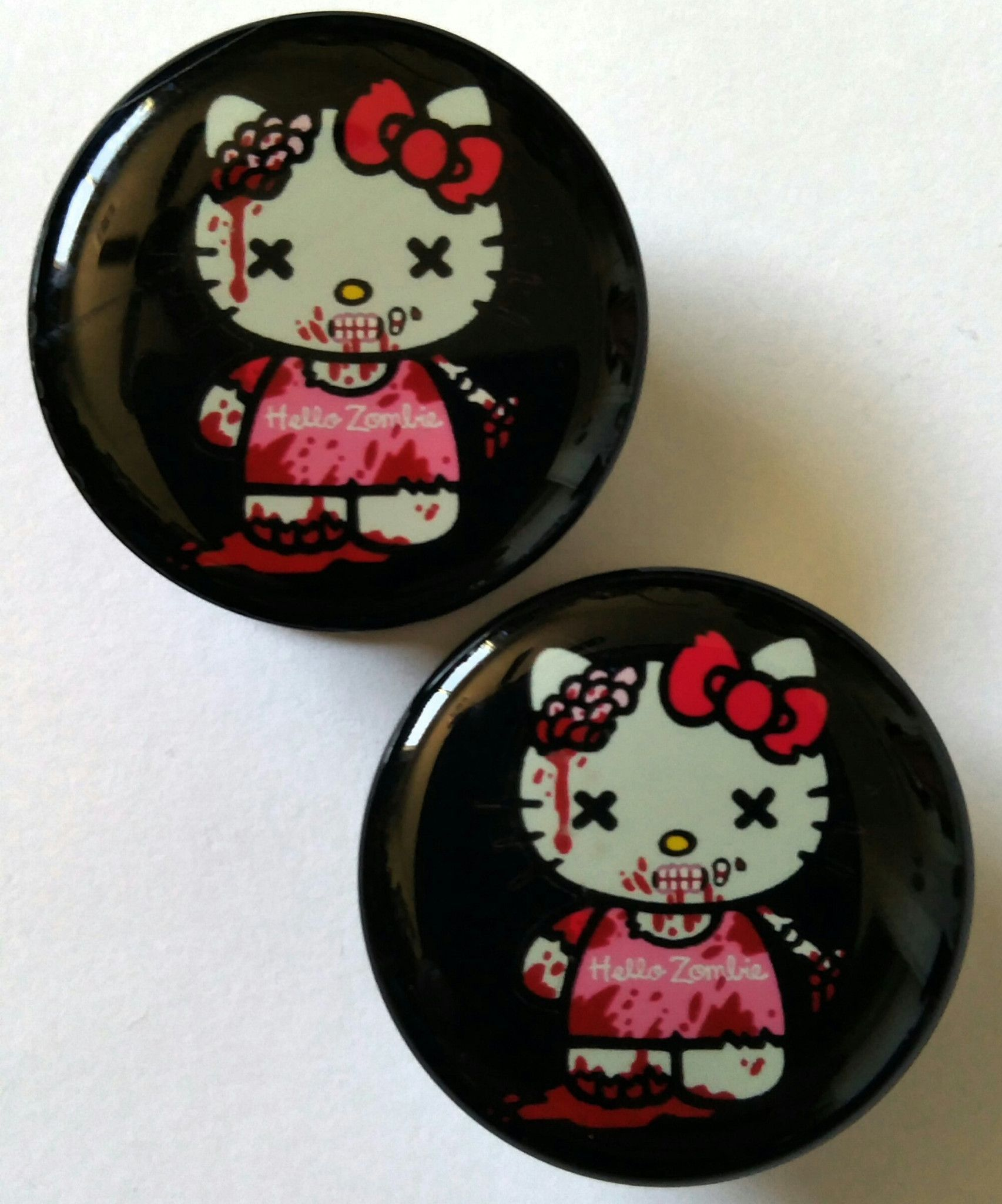 Hello Kitty Zombie Plugs