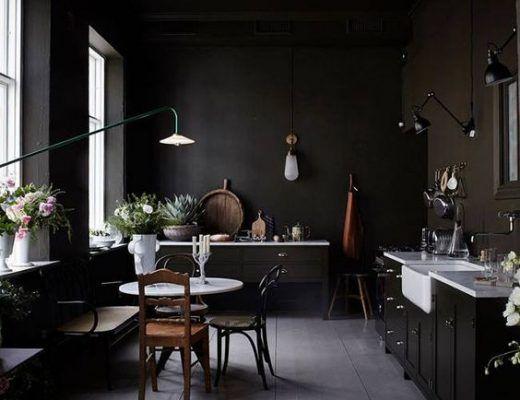 Charme Donkere Interieurs : De charme van donkere interieurs interior ideas