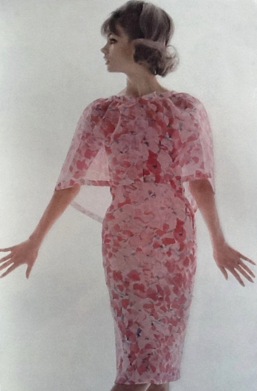 Jean Shrimpton in Nina Ricci, Vogue Paris, 1963