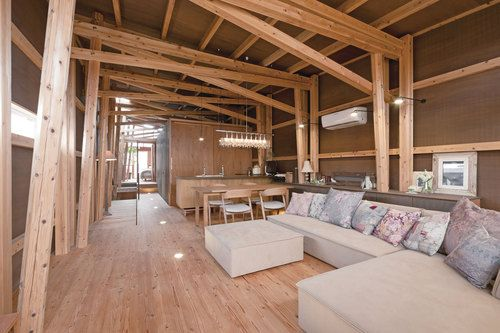 Suga Atelier House Of Cedar Architectuur Interieur Design